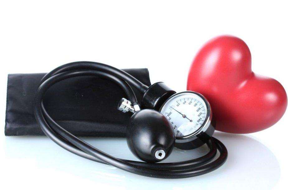 hipertenzijos vaizdo prevencija