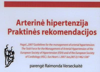 hipertenzijos masažo pagrindai hipertenzijos gretutinės ligos