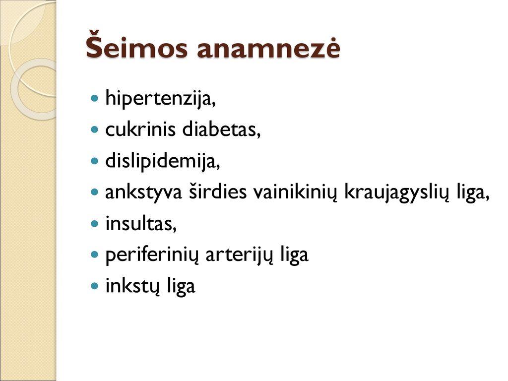 kaip susiję diabetas ir hipertenzija)