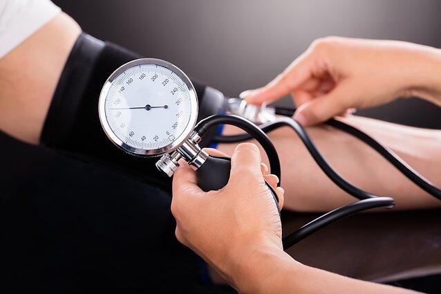 Pirminė hipertenzija kenkia tyliai