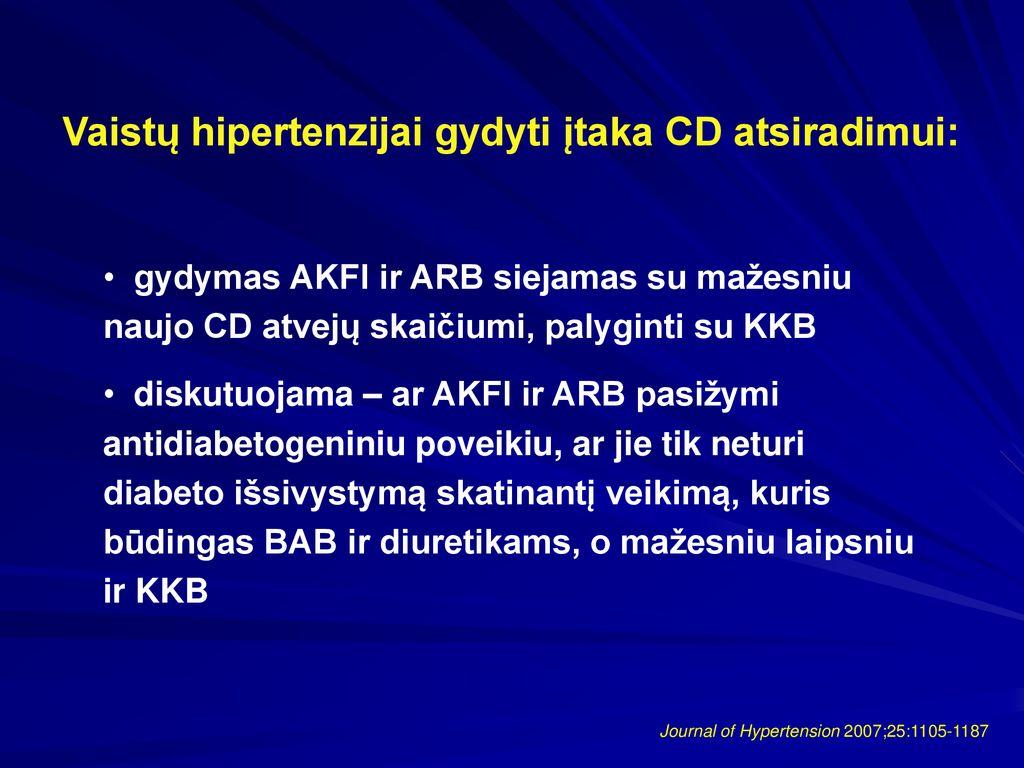 hipertenzija 2 laipsnių vaistai atsparios hipertenzijos kriterijai