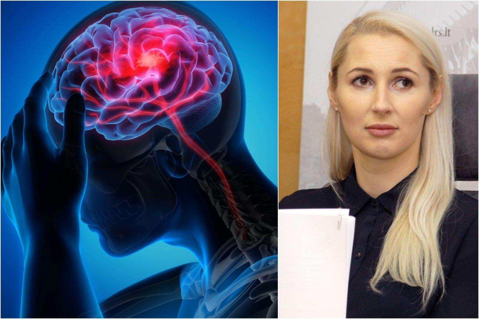 hipertenzija, kai skauda galvą)