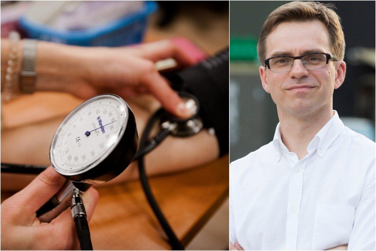 pirmoji pagalba esant hipotenzijai ir hipertenzijai)