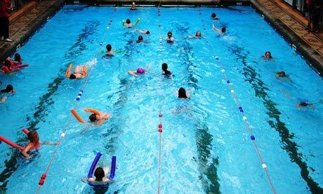 ar galima eiti į baseiną su hipertenzija