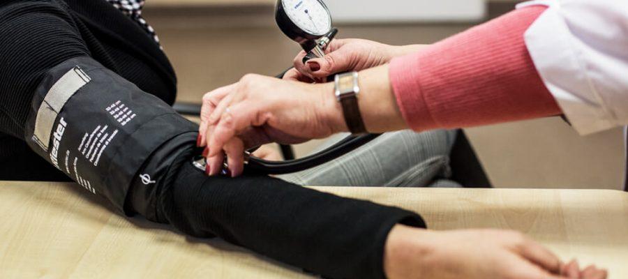 kas atskleidžia hipertenziją