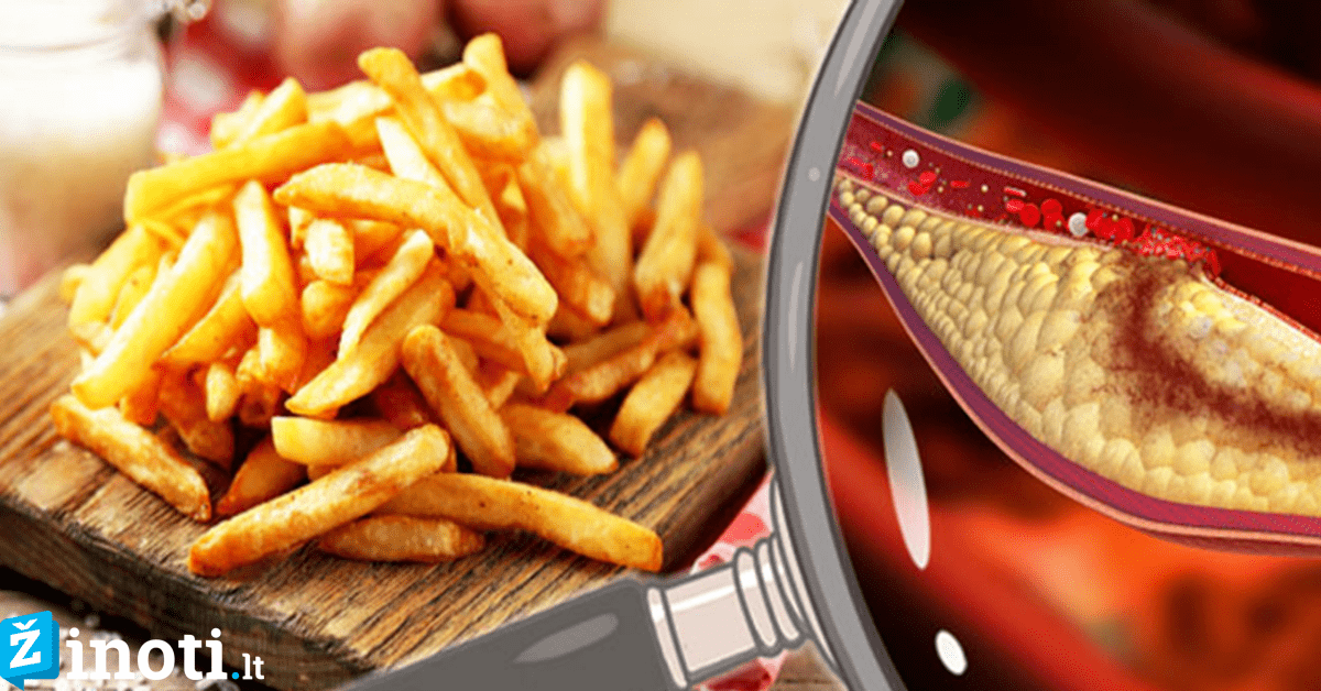 maisto produktai ir širdies sveikata