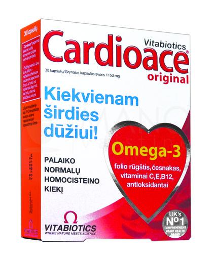 geriausi vitaminai ir mineralai širdies sveikatai)