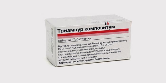 Neramūs diuretikų vaistai edemai - Struktūra - November