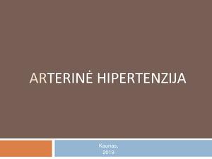 hipertenzija ir jos komplikacijos hipertenzija gali būti negydoma