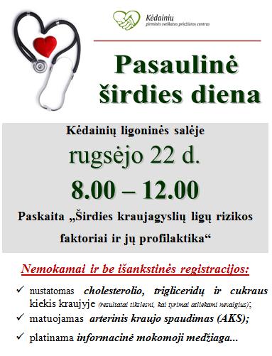 širdies sveikata vyresnėms nei 50 metų moterims)