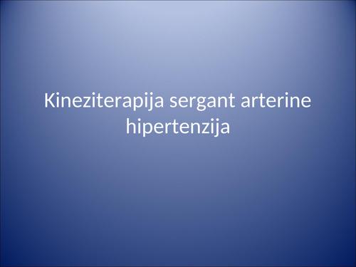hipertenzija su cerebriniu paralyžiumi