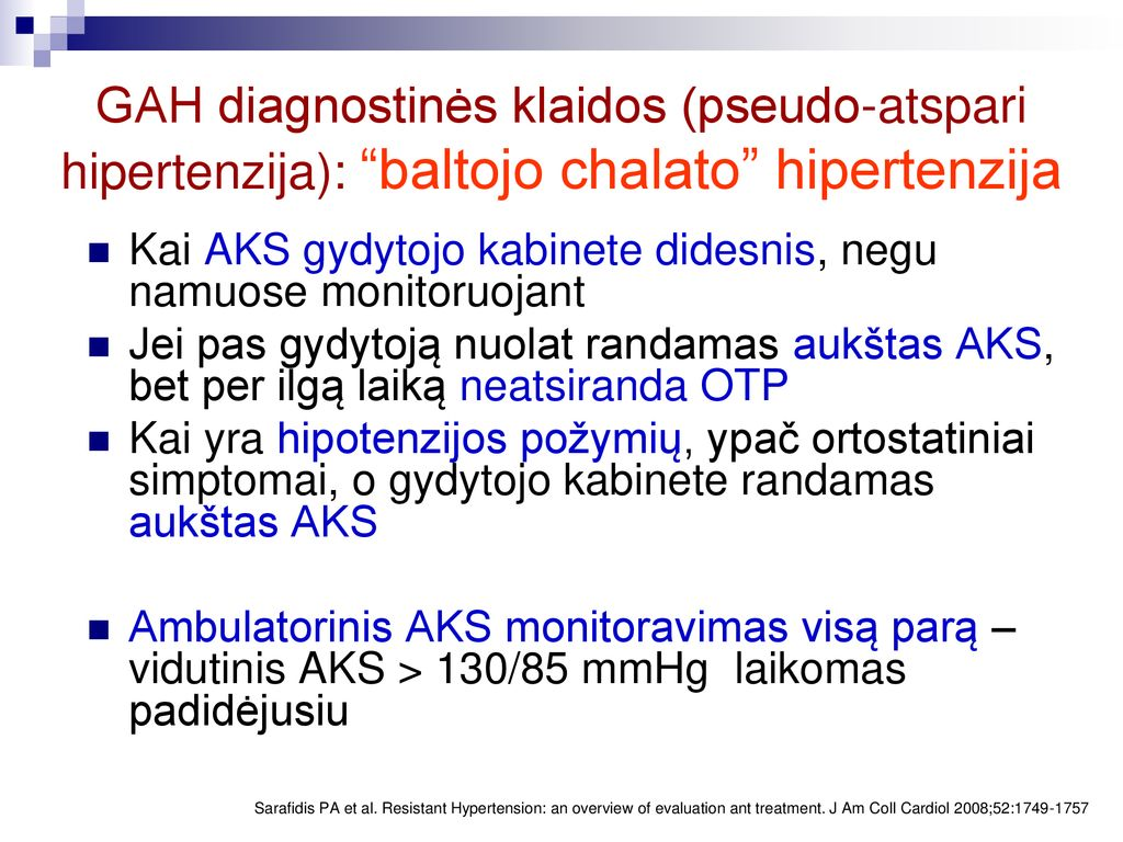 namų hipertenzija)