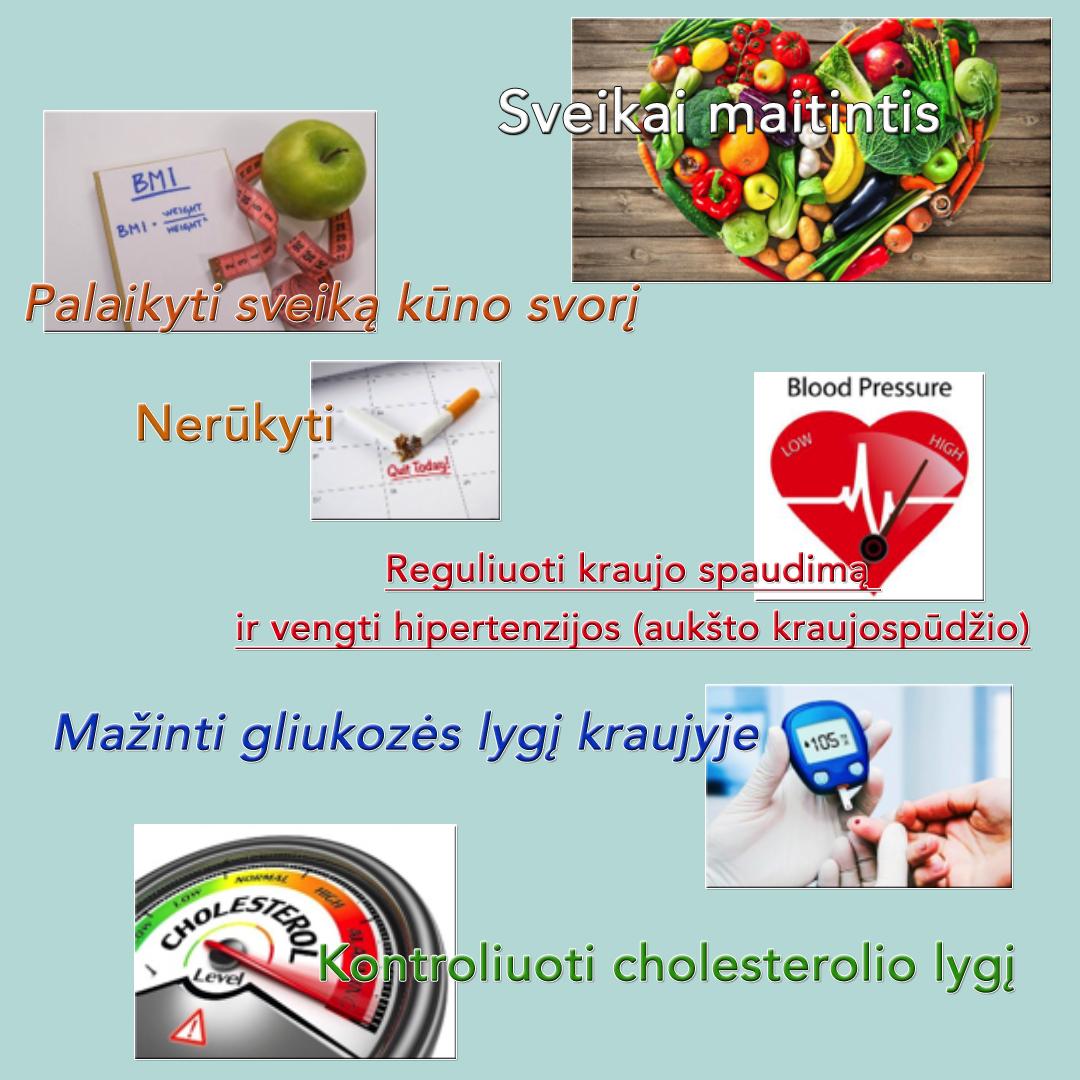 hipertenzija sveikas maistas