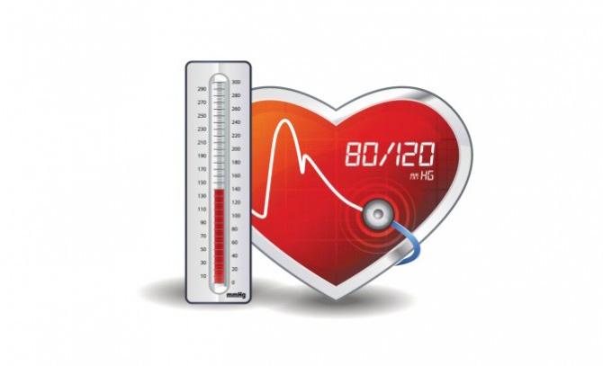 aukštas atmosferos slėgis su hipertenzija