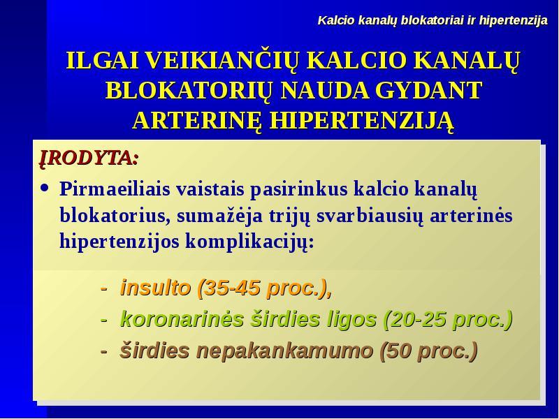alfa adrenerginių blokatorių vaistai nuo hipertenzijos)