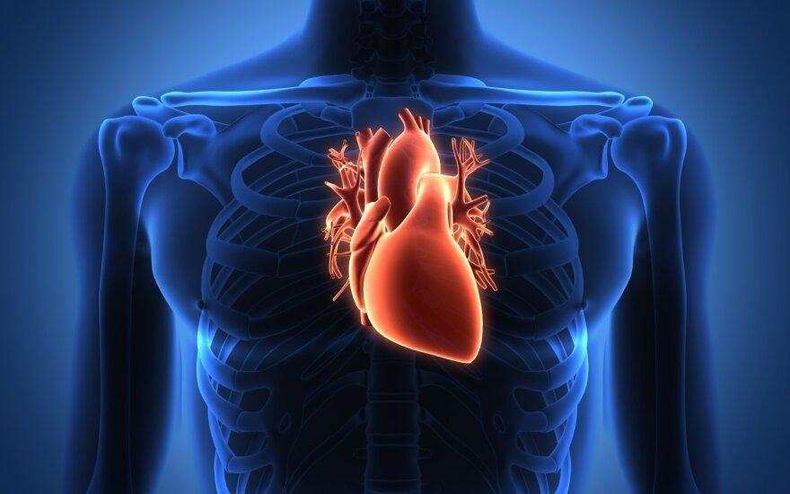 stazinis širdies nepakankamumas namų sveikata