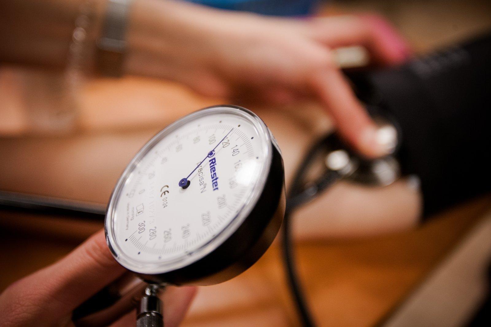 hipertenzija ir kraujo krešuliai)