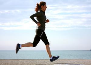 su hipertenzija, bėgimas