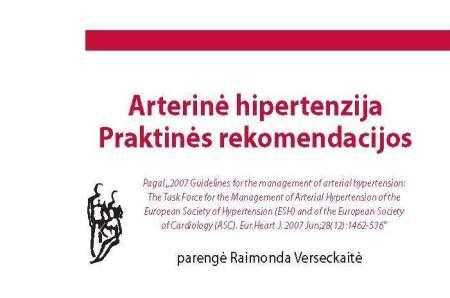 hipertenzija dėl nervų