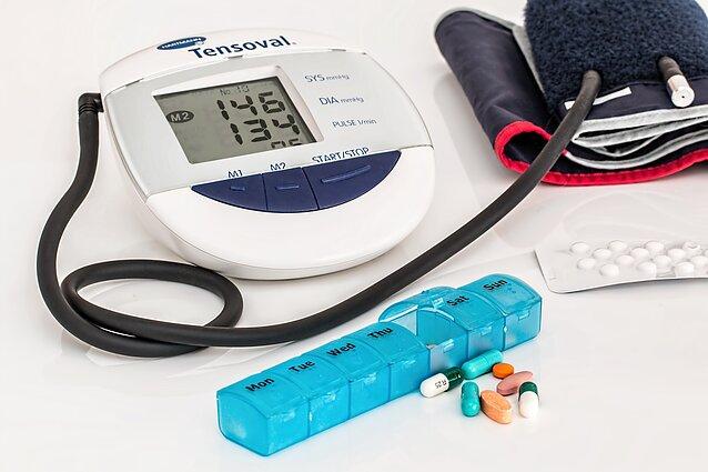 hipertenzija puola pirmąją pagalbą