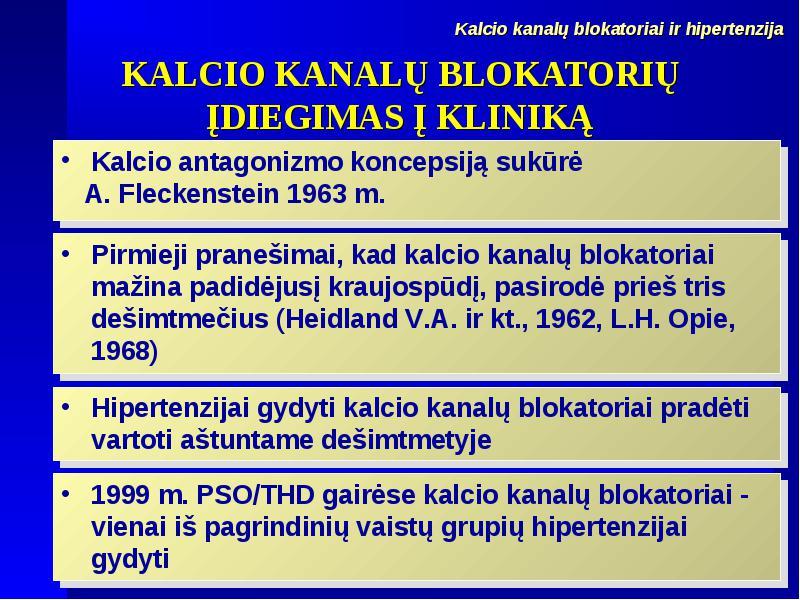 Kokie adrenerginiai blokatoriai skirti hipertenzijai - Vaskulitas November