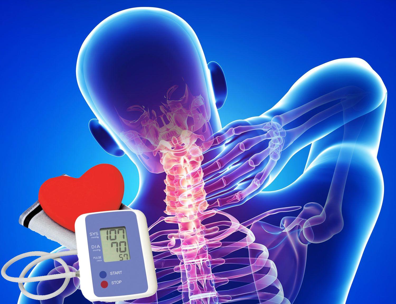 gimdos kaklelio osteochondrozės hipertenzijai gydyti