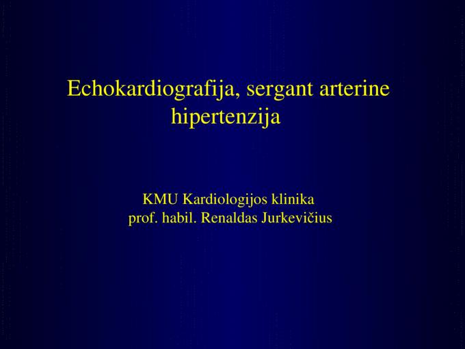 ccc hipertenzijos ligos)