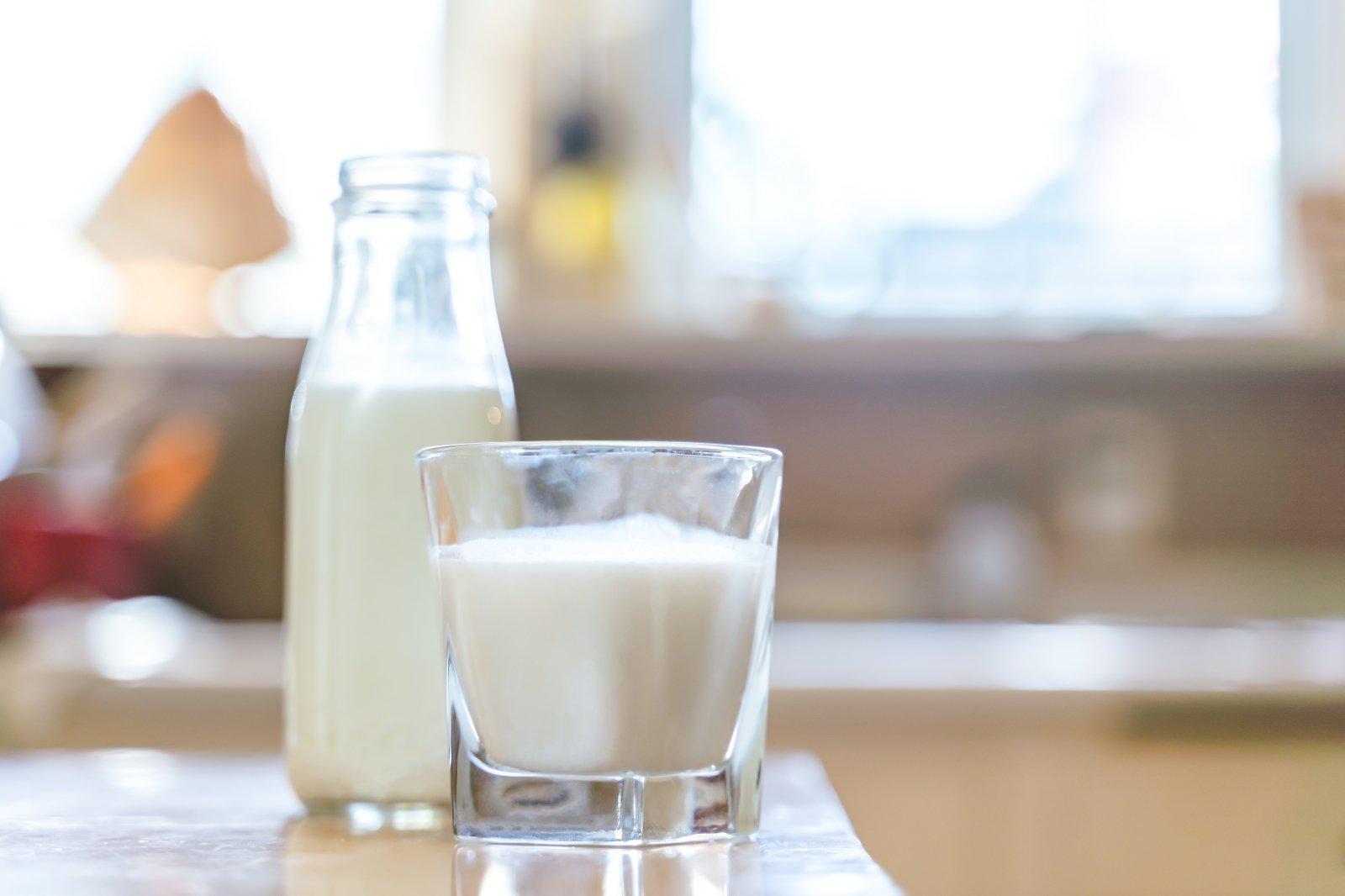 Paaiškino, ar galima gerti pieną