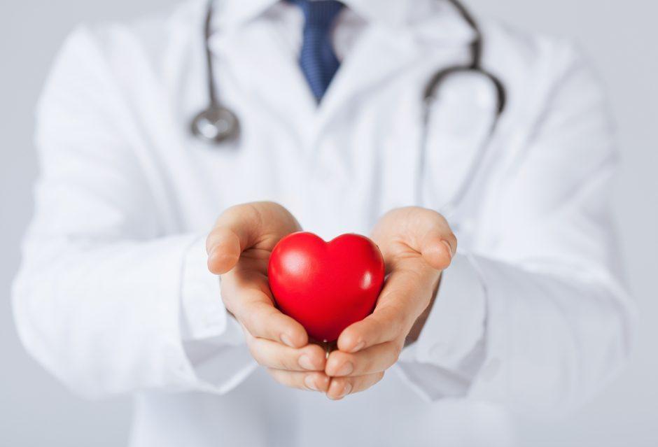 širdies širdies ritmo tiksliniai intervalai