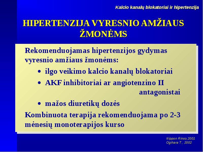 Vyresnio amžiaus žmonių arterinės hipertenzijos gydymas | LSMU DSpace/CRIS