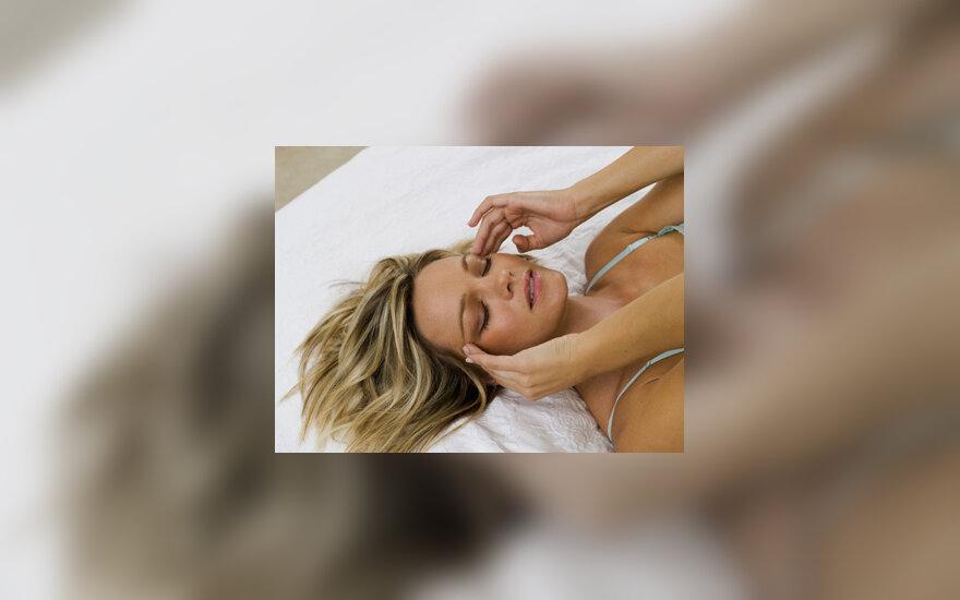 kaip numalšinti galvos skausmą sergant hipertenzija