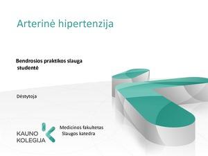 hipertenzijos priežastys ir gydymas