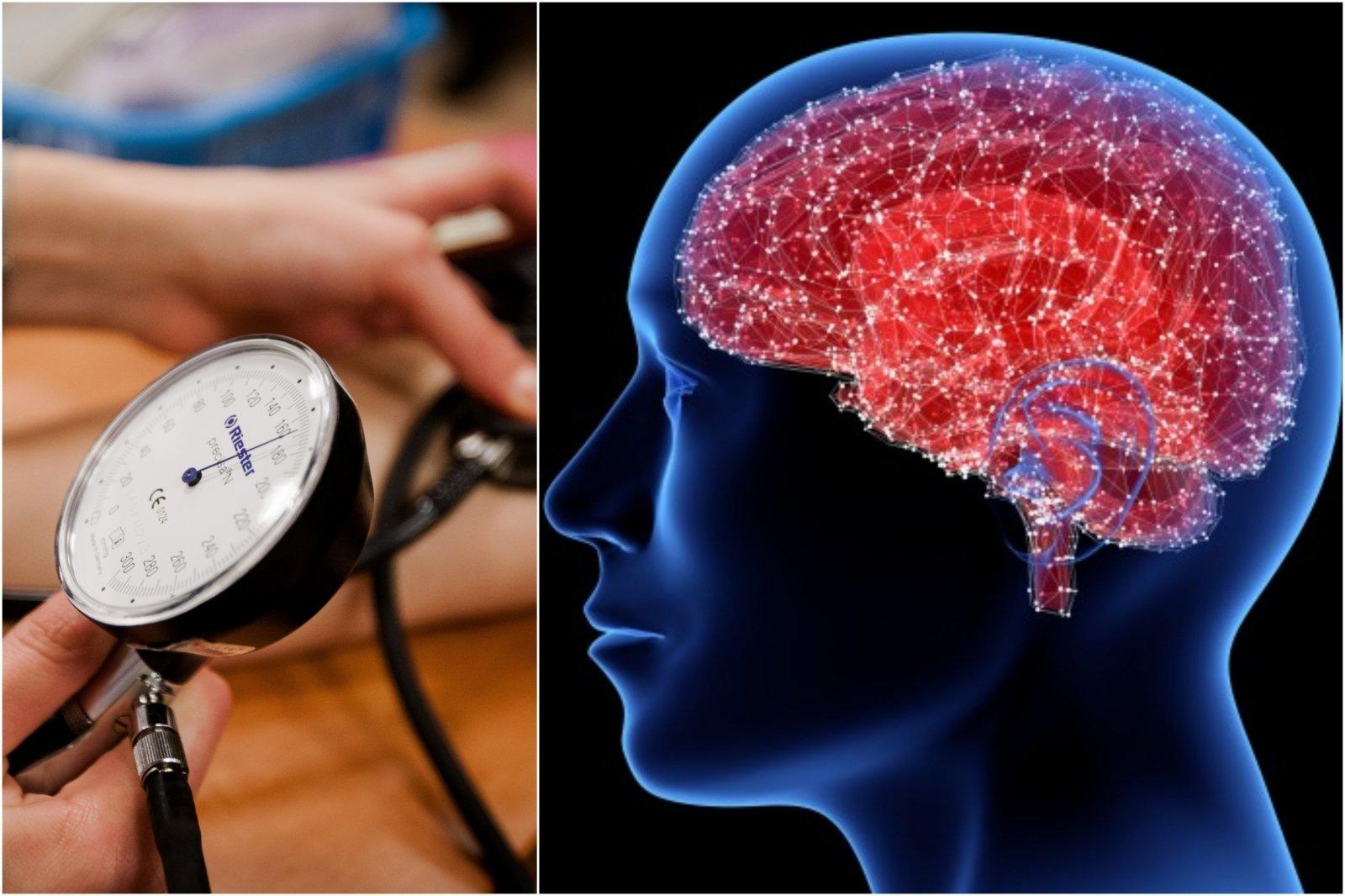 hipertenzija ar aukštas kraujospūdis