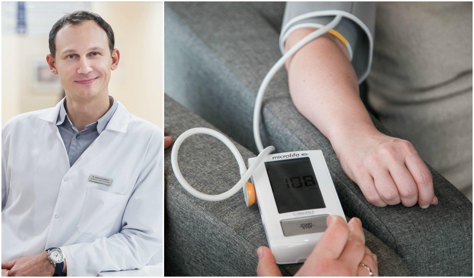 ką daryti norint išvengti hipertenzijos
