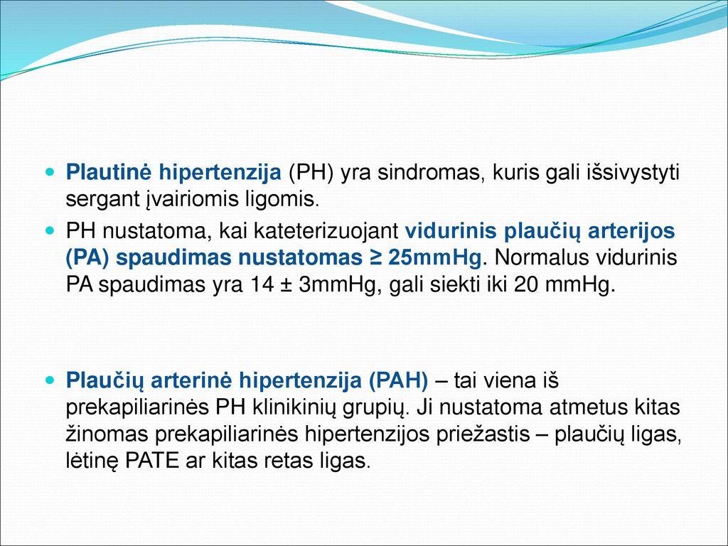 parenchiminė hipertenzija