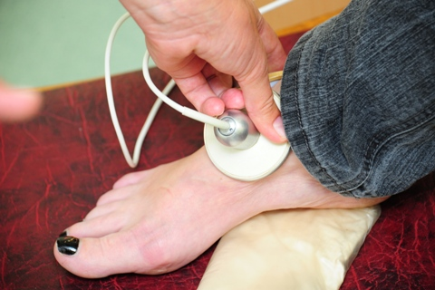 degančios pėdos hipertenzija