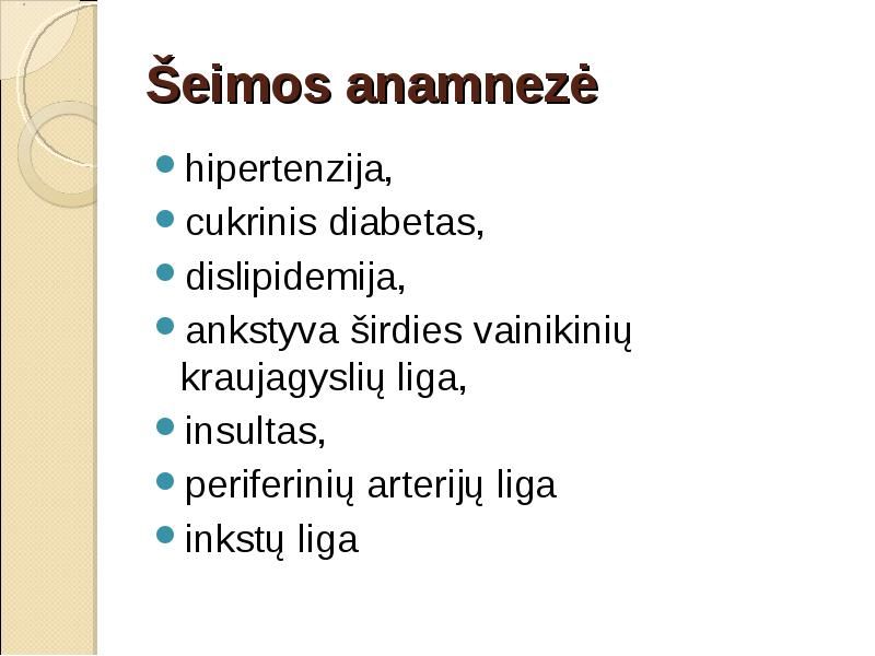 kokios ligos susijusios su hipertenzija)