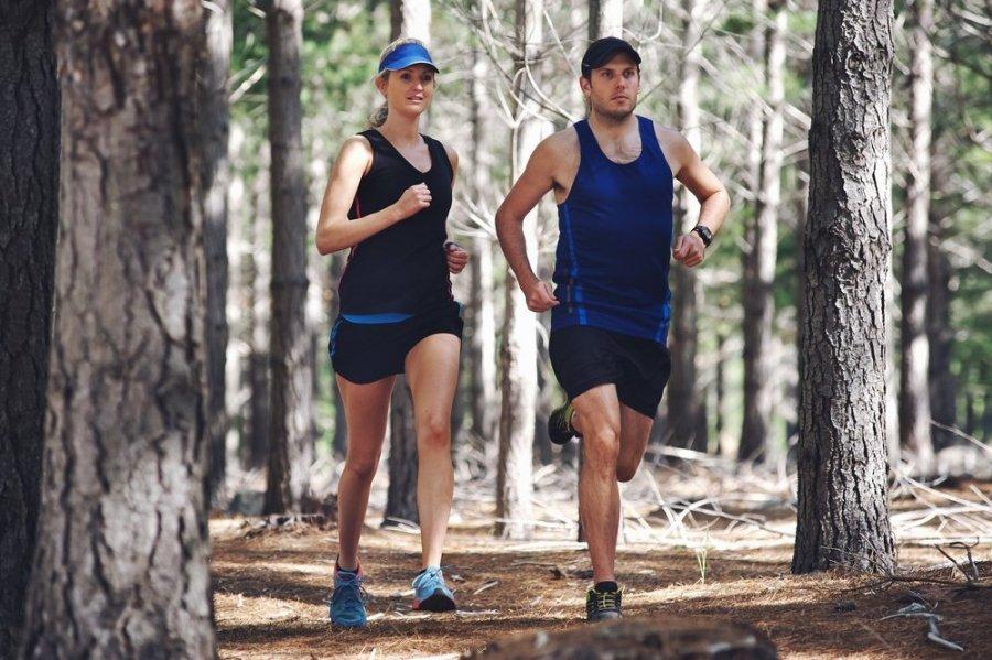 bėgimas ir širdies sveikata)