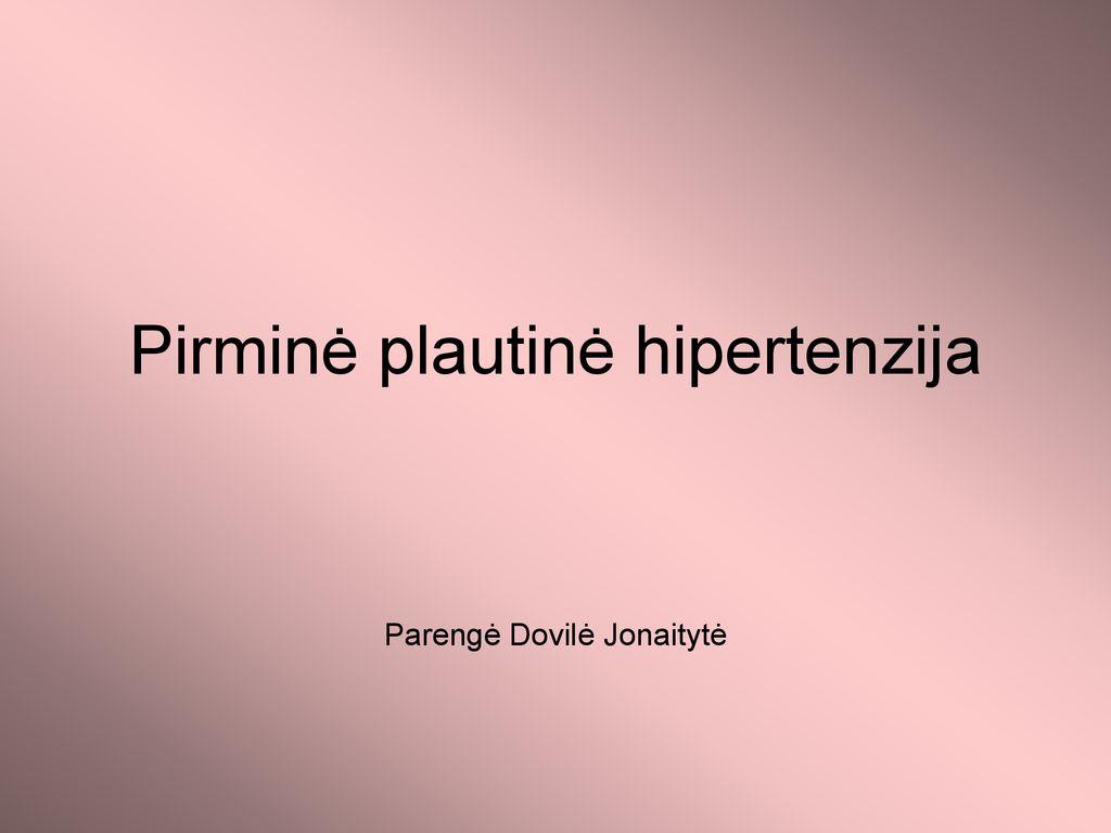 kaip liga pasireiškia hipertenzija)