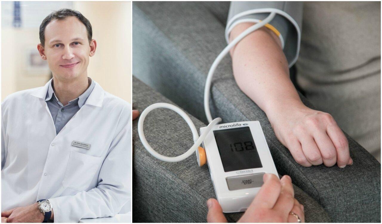 ko nedaryti hipertenzija sergantiems žmonėms)