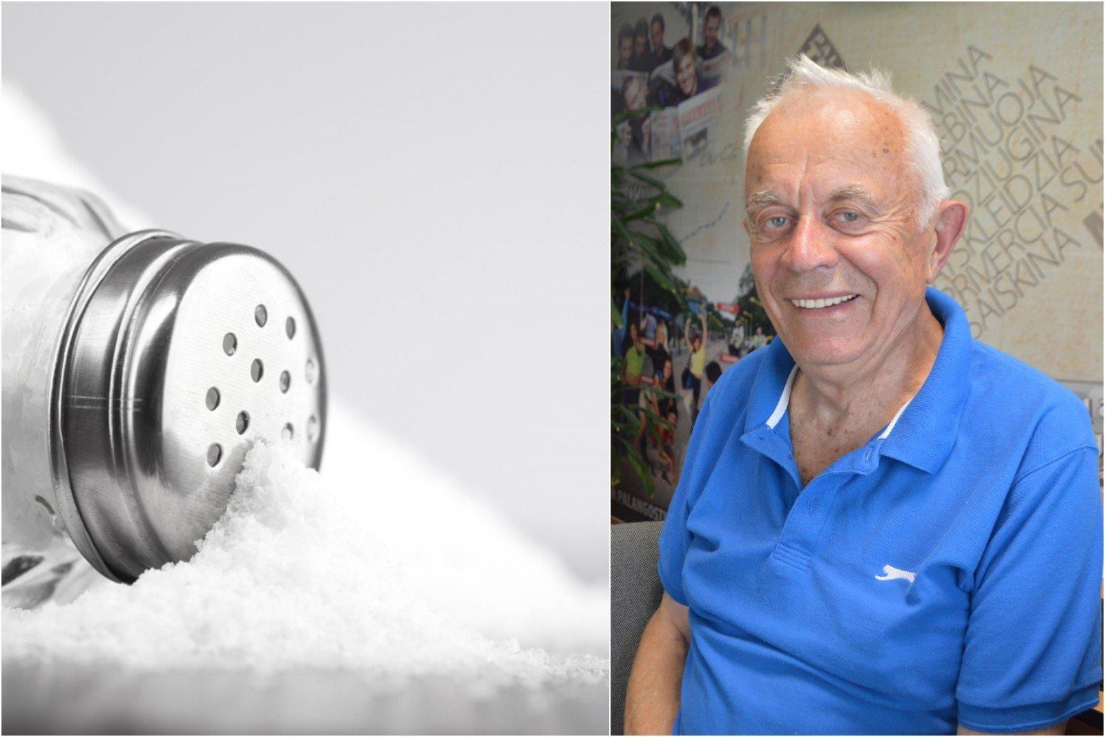 druskos vartojimas sukelia hipertenziją