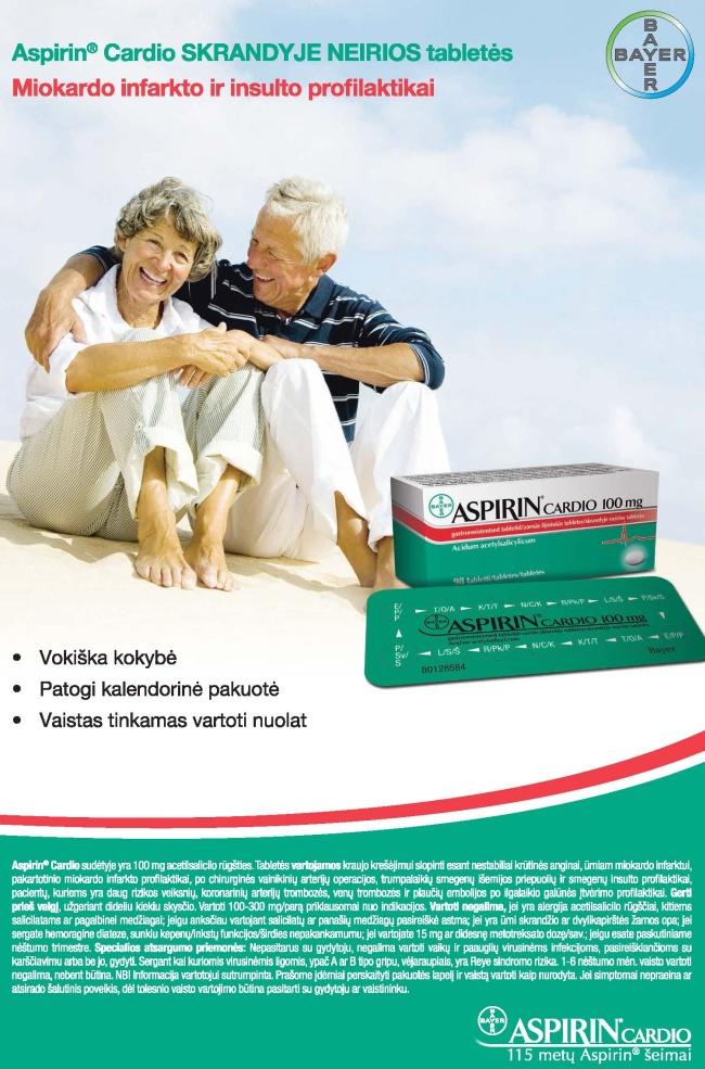 abc sveikatos ataskaita aspirinas širdžiai)