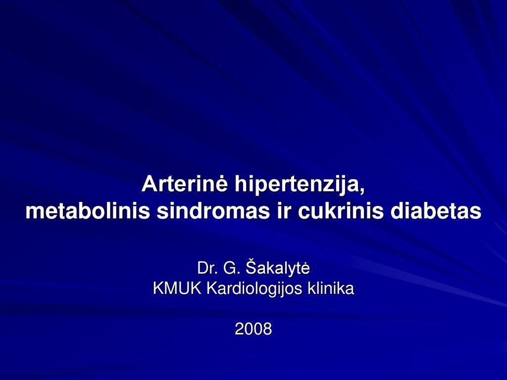 hipertenzija 1 tipo cukriniu diabetu hipertenzija invitro