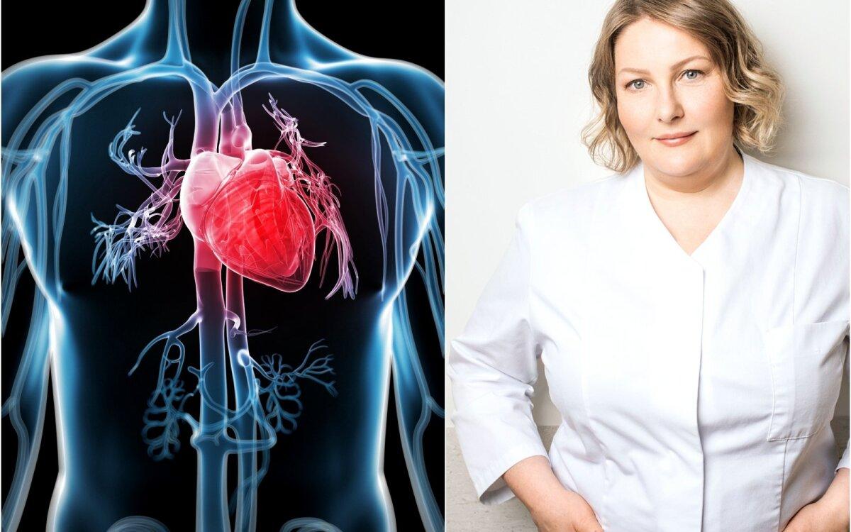 širdies sveikata ir prakaitavimas)