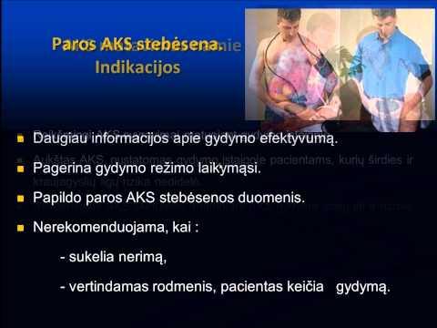 hipertenzija ir gydymo režimas)