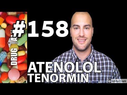 hipertenzija atenololis