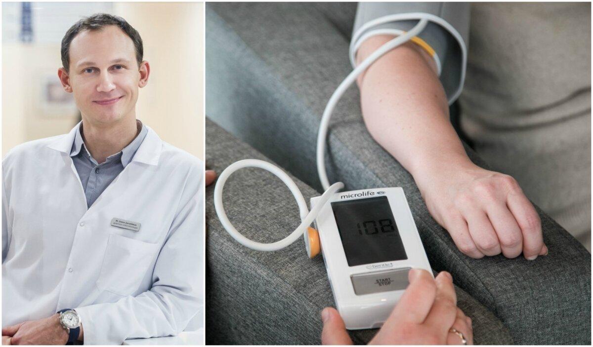 sergant hipertenzija, kokie tyrimai atliekami