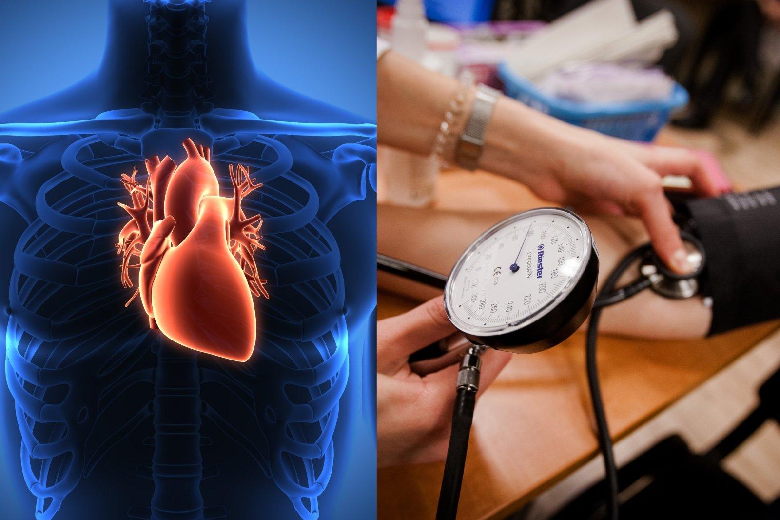 geriausia širdies sveikata kurie ligoninėje gydė hipertenziją