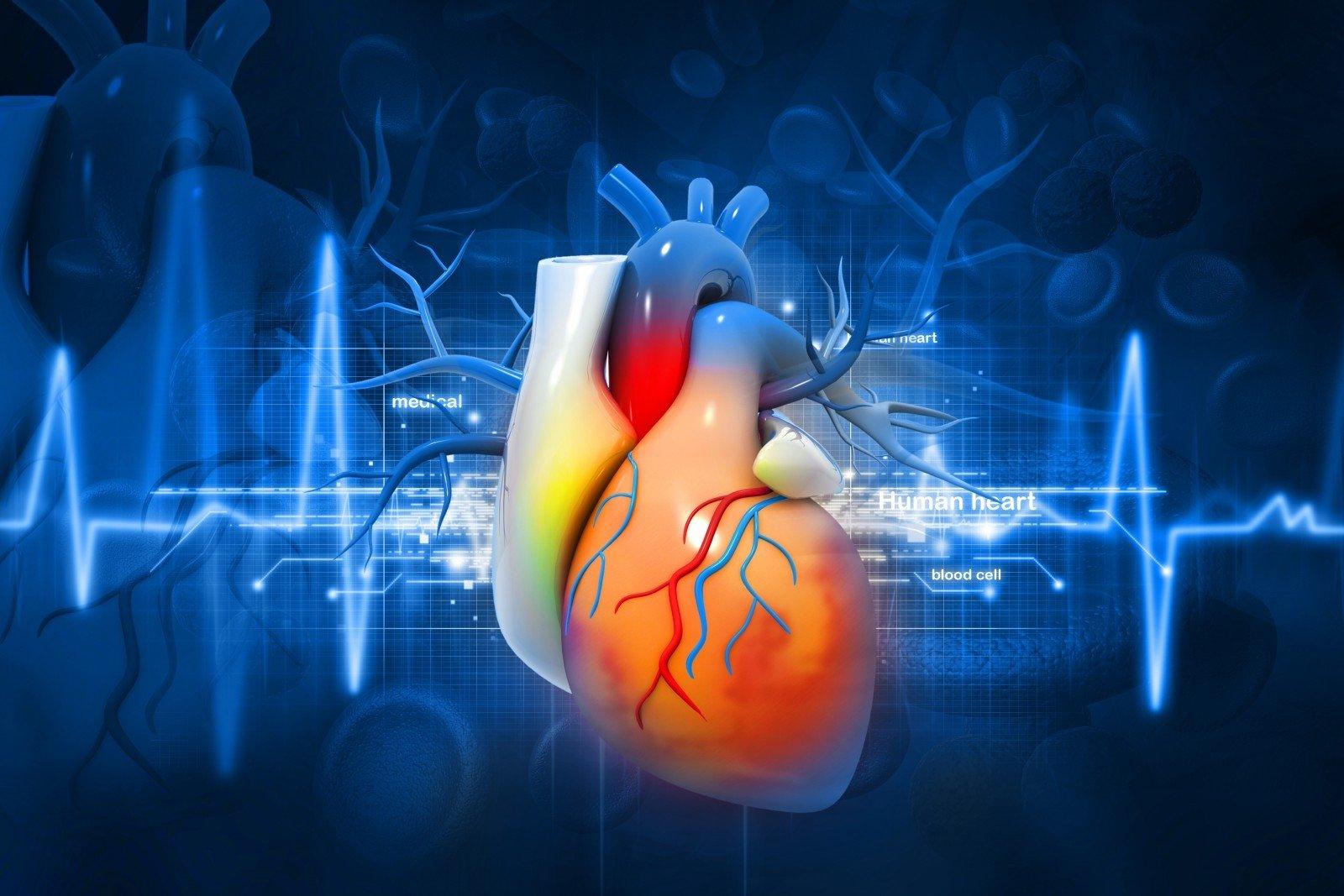Širdies ligos ir prakaitavimas