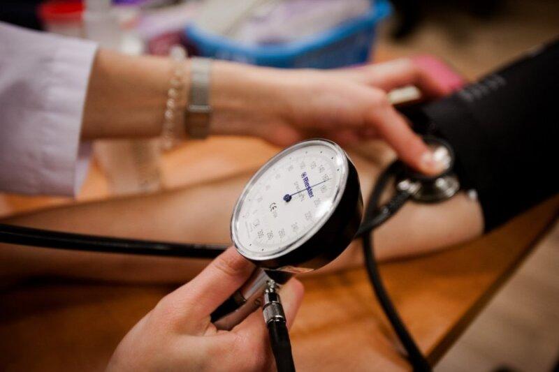sergant hipertenzija, pulsas yra mažas)